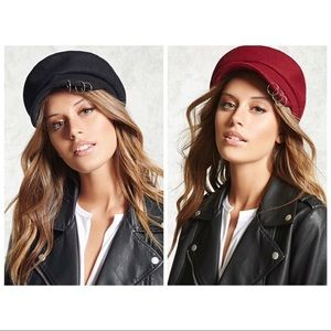 Forever 21 Pierced Cabby Hat Buddle